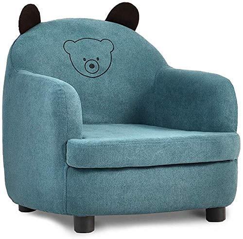 Sillón pequeño de juguete, relleno de espuma, suave y cómodo para niños de 1 a 10 años (color: A) (color: A)