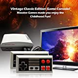 Old Arcade Classic Retro Video Game Console Built-in 620 Games Video Handheld Game Player,AV Connection ,8-Bit