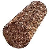 MIED Valla de caña, Bambú de Caña Pelada Natural, ProteccióN de JardíN, Valla de Privacidad, Rollo de Panel Ancho, Cercado Solar / 1.5x3m