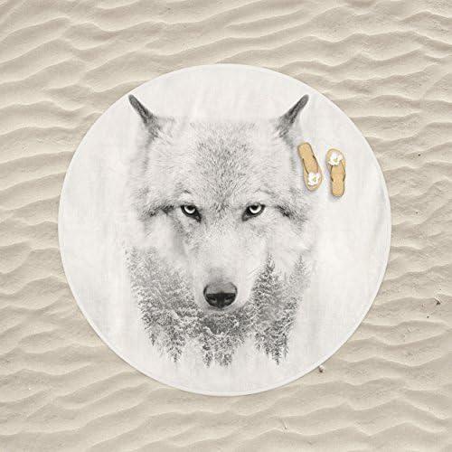 Jennifer Davidson Napkins Wolf Sketch 3D Design Digital Print UK Made
