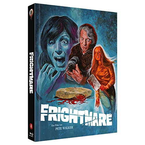 Frightmare (Pete Walker Collection Nr. 4) (2-Disc Mediabook Edition, Cover B, Limitiert auf 222 Stück) [Blu-ray]