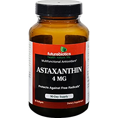 Futurebiotics Astaxanthin, 90 sgels 4 mg