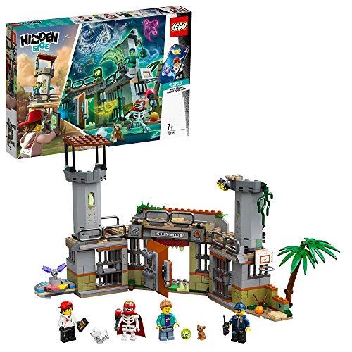 LEGO- PrisiónAbandonadadeNewbury Hidden Side Aplicación AR, Set de Juego...