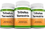 3 Bottles Tribulus Terrestris 1000mg Per Serving 270 Total Capsules KRK Supplements