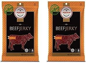 Aufschnitt All Natural Kosher Beef Jerky BBQ Flavor (2 Pack)