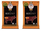 Aufschnitt All Natural Kosher Beef Jerky BBQ Flavor (2 Pack)
