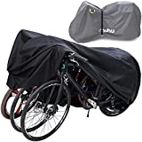 Ohuhu Bike Cover Waterproof for 3 Bikes 210D Outdoor Storage...