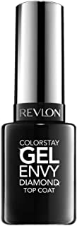 Revlon ColorStay Gel Envy Longwear Nail Enamel, Diamond Top Coat, 0.4 Fl Oz (1 Count)
