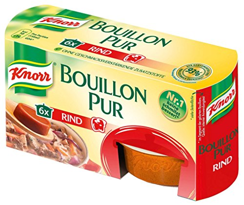 Knorr - Bouillon pur Rind - 6 x 28g