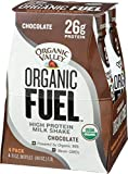 Organic Valley Fuel Chocolate 11 Fl Oz (Pack of 4)