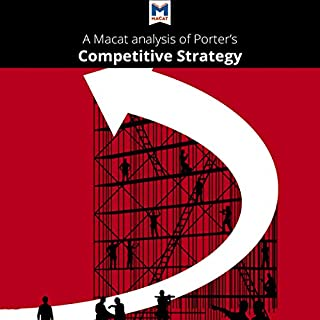 A Macat Analysis of Michael E. Porter's Competitive Strategy: Techniques for Analyzing Industries and Competitors audiobook cover art