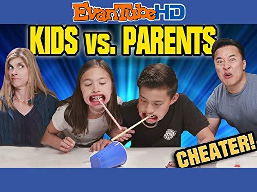 Kids VS Parents Challenge: Watch Ya Mouth Throwdown Edition!