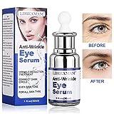 Suero de ojos,Crema de ojos,Esencia de ojos, usado para arrugas y bolsas de ojos para eliminar hinchazón, ojeras, líneas finas y arrugas (30ml)