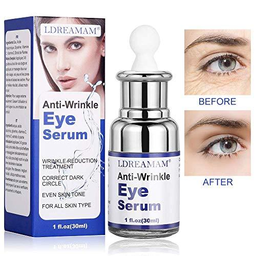 Augen Serum,Augenpartie Serum,Eye Serum,Behandlung für dunkle Augenringe,Schwellungen und Fältchen(30ml)