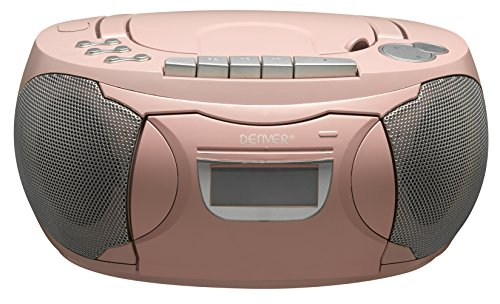 Denver TCP-39PINK Radio/Boombox rosa