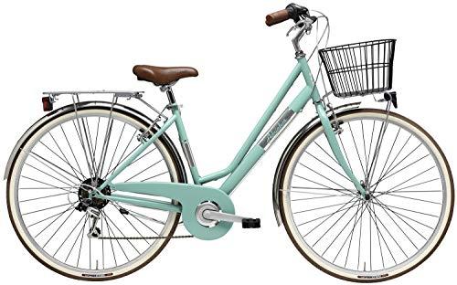 Adriatica 28 Zoll Damen City Fahrrad Panarea 6 Gang, Farbe:grün