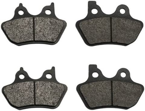 Volar Front Rear Brake Pads Seasonal Wrap Introduction Max 59% OFF for Harley Sportster 2000-2003 XLH