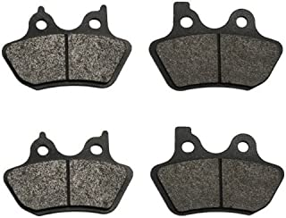Volar Front & Rear Brake Pads for 2000-2005 Harley Softail Standard FXST