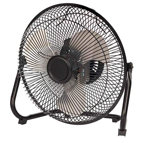 Mainstay 9' Durable Metal High-Velocity Fan with Three-Speed Rotary...