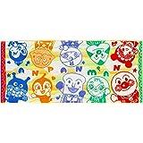 楠橋紋織(Kusubashi Mon Ori) フェイスタオル ミックスカラー 約76×34cm アンパンマン 虹の空 ジャガード A-84691-31-Y