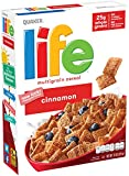 Life Breakfast Cereal, Cinnamon, 13oz Boxes (3 Pack)