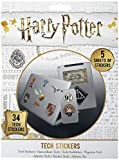 Pegatinas para dispositivos electrónicos de Harry Potter (34 pegatinas)