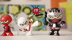 Amazon.com: Fart Ninja Stink Foo (Black/Purple): Toys & Games