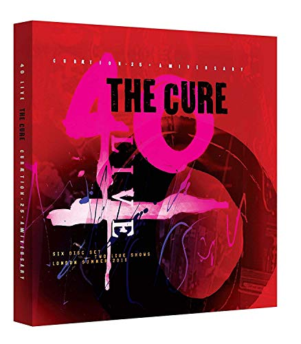 The Cure - Curaetion 25 - Anniversary - Limited Edition (+ 4 CDs) (+ 40 seitigem Buch) [Blu-ray]