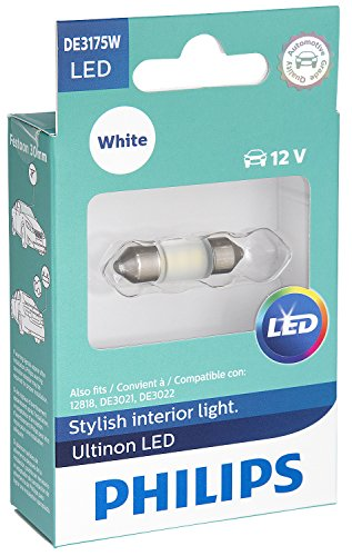 Philips DE3175WLED Ultinon LED Bulb (White), 1 Pack,Large