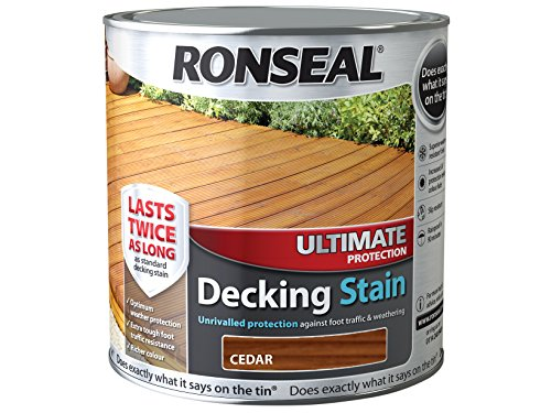 Ronseal UDSCE25L 2.5 Litre Ultimate Protection Decking Stain - C