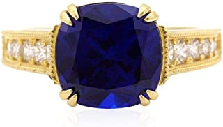 100/% original AAA calidad Gemstone Divya shakt/í 7,25/ /7,50/quilates azul zafiro colgante//Locket Nilam//Neelam piedra colgante de plata