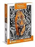 Clementoni 39429Tiger–Platinum Collection Puzzle, 1000Piezas , Modelos/colores Surtidos, 1 Unidad