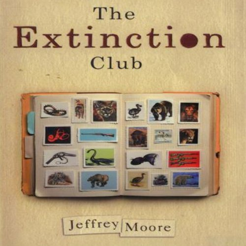 The Extinction Club audiobook cover art