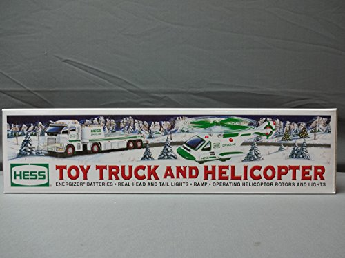 Hess Truck and Helicopter - 2006