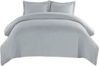 Bedding Duvet Cover Set Duvet Cover and Pillowcase Quilt Bedding Set with Zipper Closure Duvet Protector Digital Printing 12 Colors (Color : L, Size : 264x229cm)