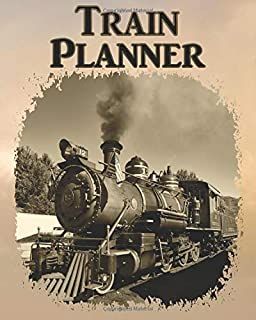 Train Planner: 4th Quarter Daily (Plus Weekly & Monthly) Calendar Journal