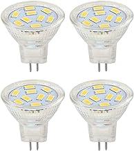 GHC LED Gloeilampen 4 stks/partij Warme/koude Witte MR11 GU4 LED-gloeilampen 12V 9/12 / 15LEDS 5730SMD for plafondverlicht...
