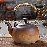 FGDSA Teiera Colino Bollitore in Ceramica Teiera Set da tè Ceramica in Pietra Fornello Elettrico in Ceramica Pentola per La Salute All'Aperto