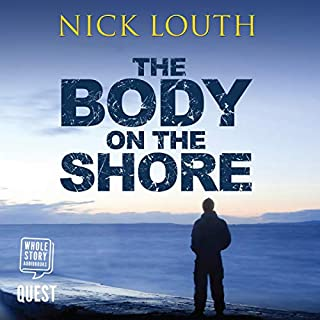 The Body on the Shore audiobook cover art