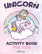 """Unicorn Coloring Book for Kids: Activity magical unicorn coloring book for kids   Gift For unicorn lovers   For Kids Of All Ages (""""8.5x11"""")"""