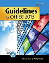 Guidelines for Microsoft Office 2013