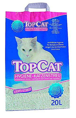 Perfecto Cat Katzenstreu TopCat Hygiene Light 20 Liter Größe 1 x 20 Liter
