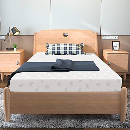 Kono Einzelmatratze, Memory-Schaum-Matratze, 90 x 190 cm, Einzelbett-Matratze, 11 cm...