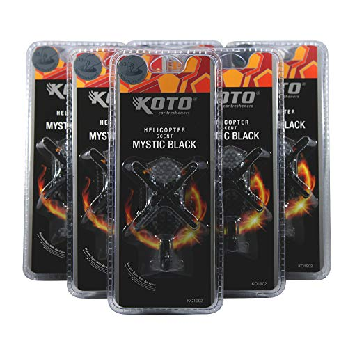 Why Should You Buy Helicopter Air Freshener (Mystic Black) 6 Pack