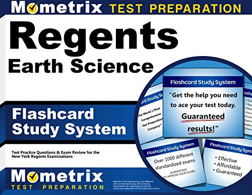 Compare Textbook Prices for Regents Earth Science Exam Flashcard Study System: Regents Test Practice Questions & Review for the New York Regents Examinations Flc Crds Edition ISBN 9781630948290 by Regents Exam Secrets Test Prep Team