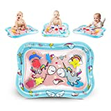KidPal Tummy Time Water Play Mat Inflatable Infant Playmat...