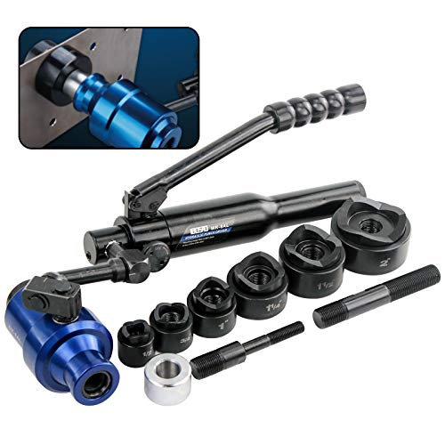 """commercial Driver set for hydraulic breakout IBOSAD Cutting tool set 1/2 ~ 2 """"For electric cable… hydraulic knockout sets"""