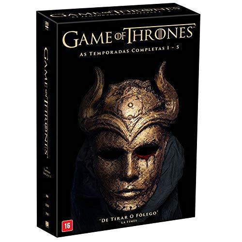 Coleção: Game Of Thrones - Da Primeira A Quinta Temporada