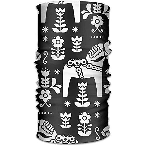 Folk art Zweeds halsdoek Dala halsdoek voor dames en heren