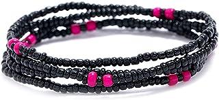 Anjetan Waist Chain Decorative Boho Bead Jewelry Bohemian Waist Jewelry Body Chain for Women Handcrafted Layering Versatil...